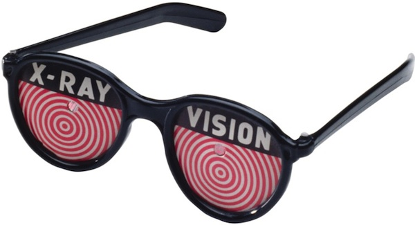 Image result for x-ray glasses from the comic books