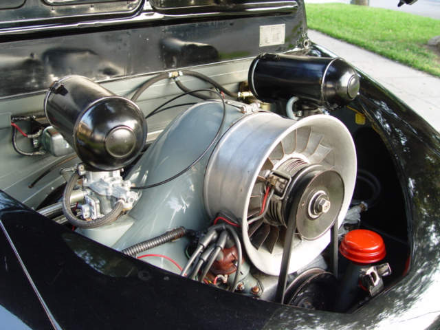 Ferdinand Porsche lifted his design for the Volkwagen's pancake opposed four-cylinder engine from Hans Ledwinka's Tatra.