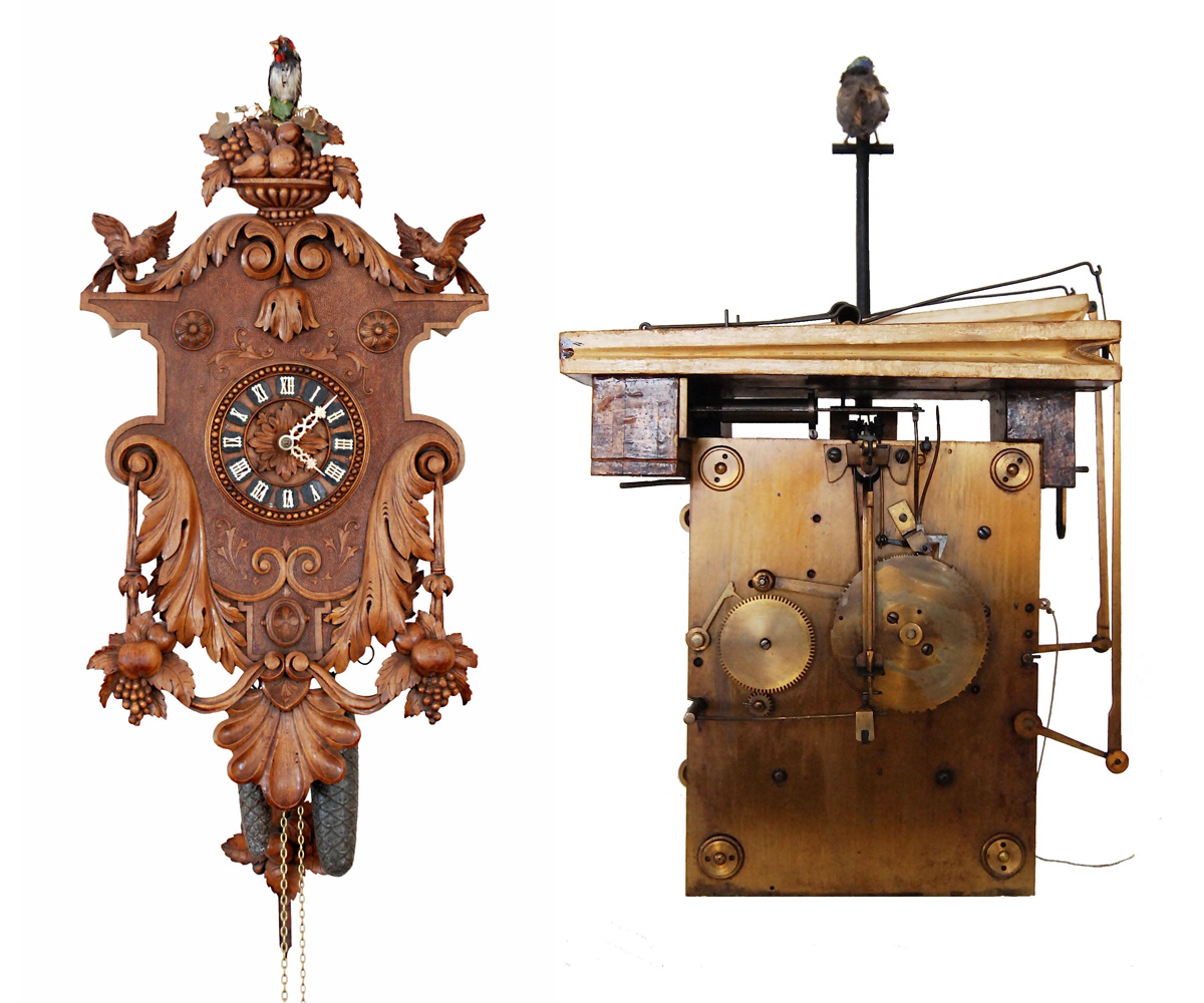 Unusual Cuckoo Clocks not your grandma's cuckoo: decapitating, rat-eating clocks of the