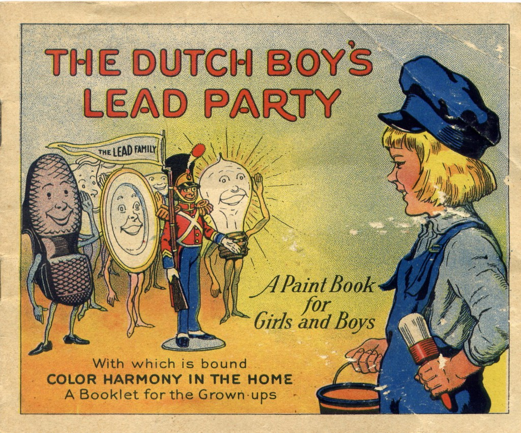 The painful part of this ad is its emphasis on kid's enjoyment of a lead paint party; part of the reason children ingested the dangerous product was it's sweet flavor (see above).