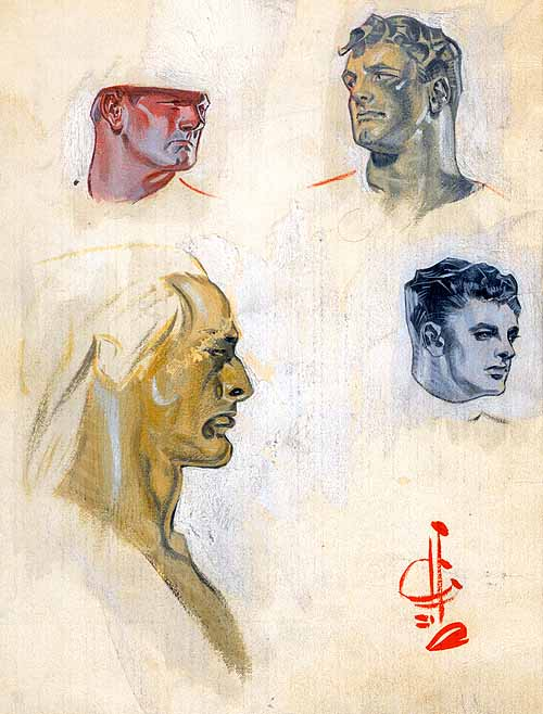 painted studies 1928