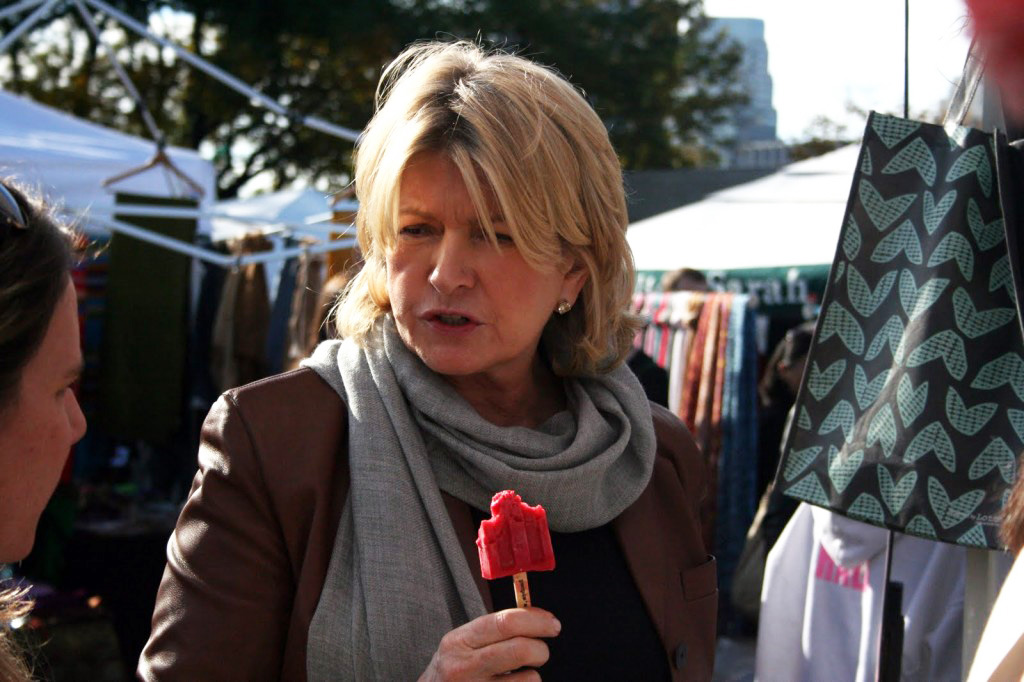 Martha Stewart is among the fans of People's Pops, which had to change its name from People's Popsicles due to pressure from Popsicle brand owner, Unilever.