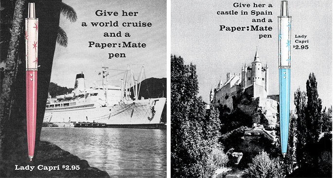 1. The Lady Capri Pen by Paper Mate (1962)