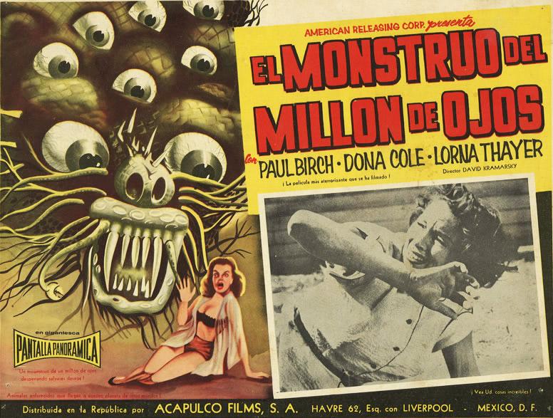 """""""El Monstruo Del Millon De Ojos """""""