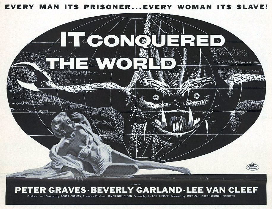 "Cozzoli finds the silly Venusian from 1956's ""It Conquered the World"" to be one of the least frightening movie monsters."