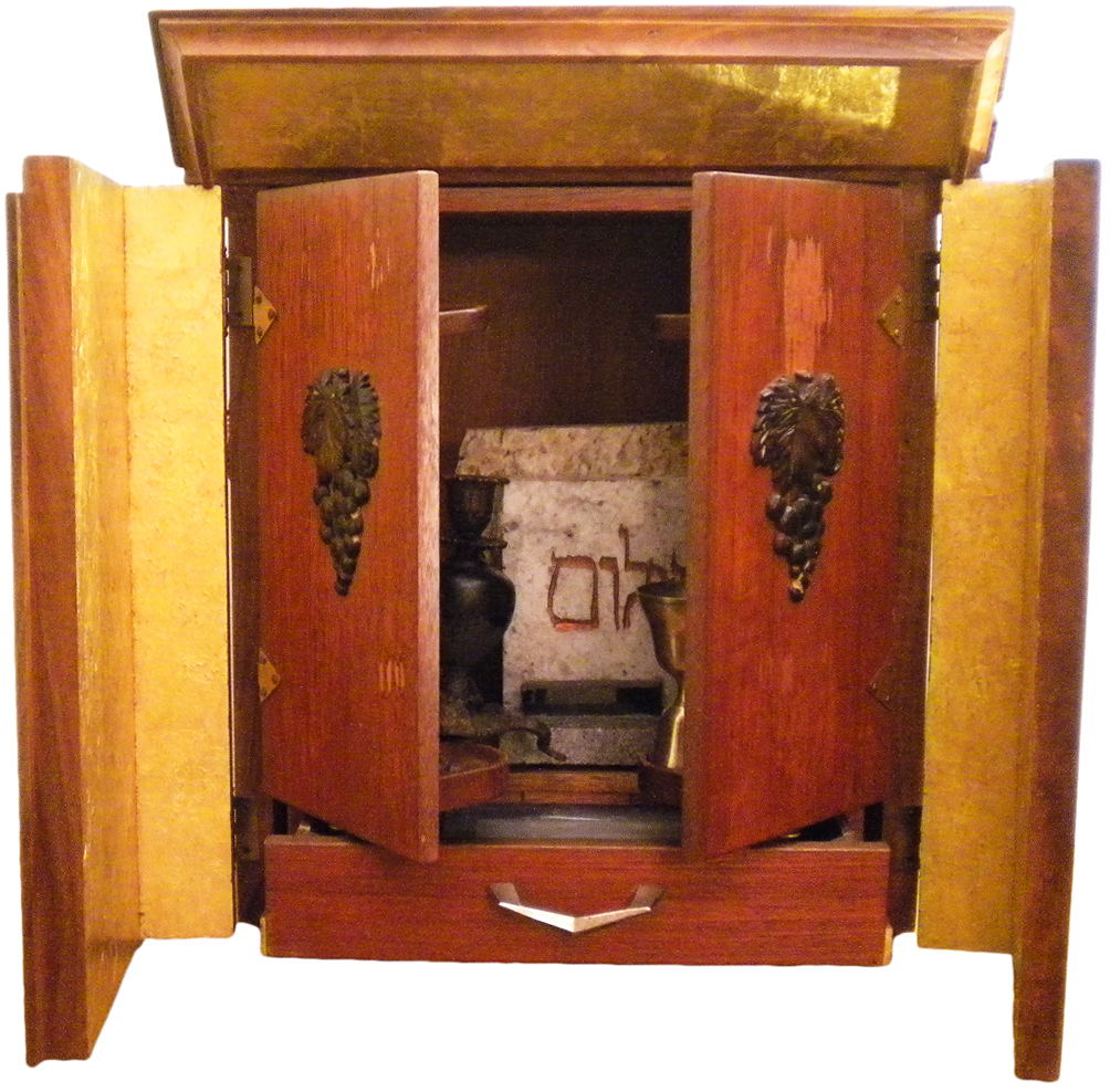 Perhaps the scariest haunted antique documented, the Dibbuk Box has been closed up in a 24-carat gold-lined ark and buried. The wine cabinet-turned-Jewish prayer box is believed to hold a menacing spirit.