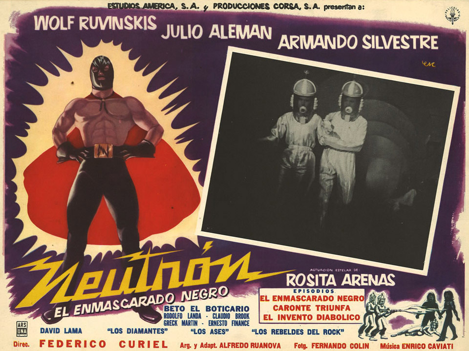 The luchador or masked wrestler is Mexico's version of the American superhero.