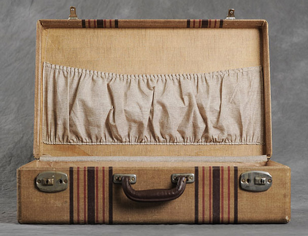 Floyd's empty suitcase.