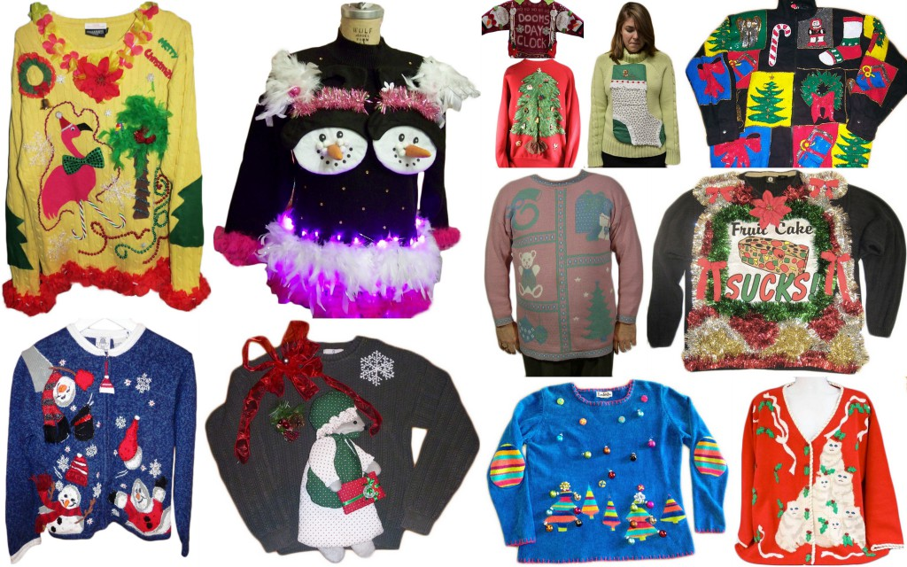 12 even uglier christmas sweaters collectors weekly. Black Bedroom Furniture Sets. Home Design Ideas