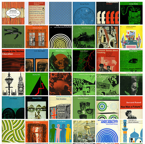 Design blogs have a fetish for Penguin Books paperback covers from the '60s. Via Sleevage.com.