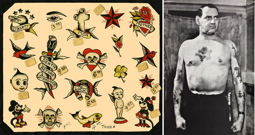 Hello Sailor The Nautical Roots Of Popular Tattoos