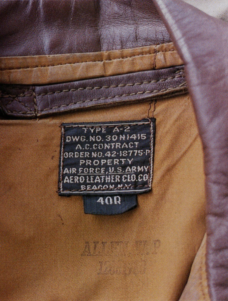 Some collectors and reproduction companies obsess over the details of the A-2, including the contract numbers, stitching, and dyes used by particular manufacturers, like Aero Leather.