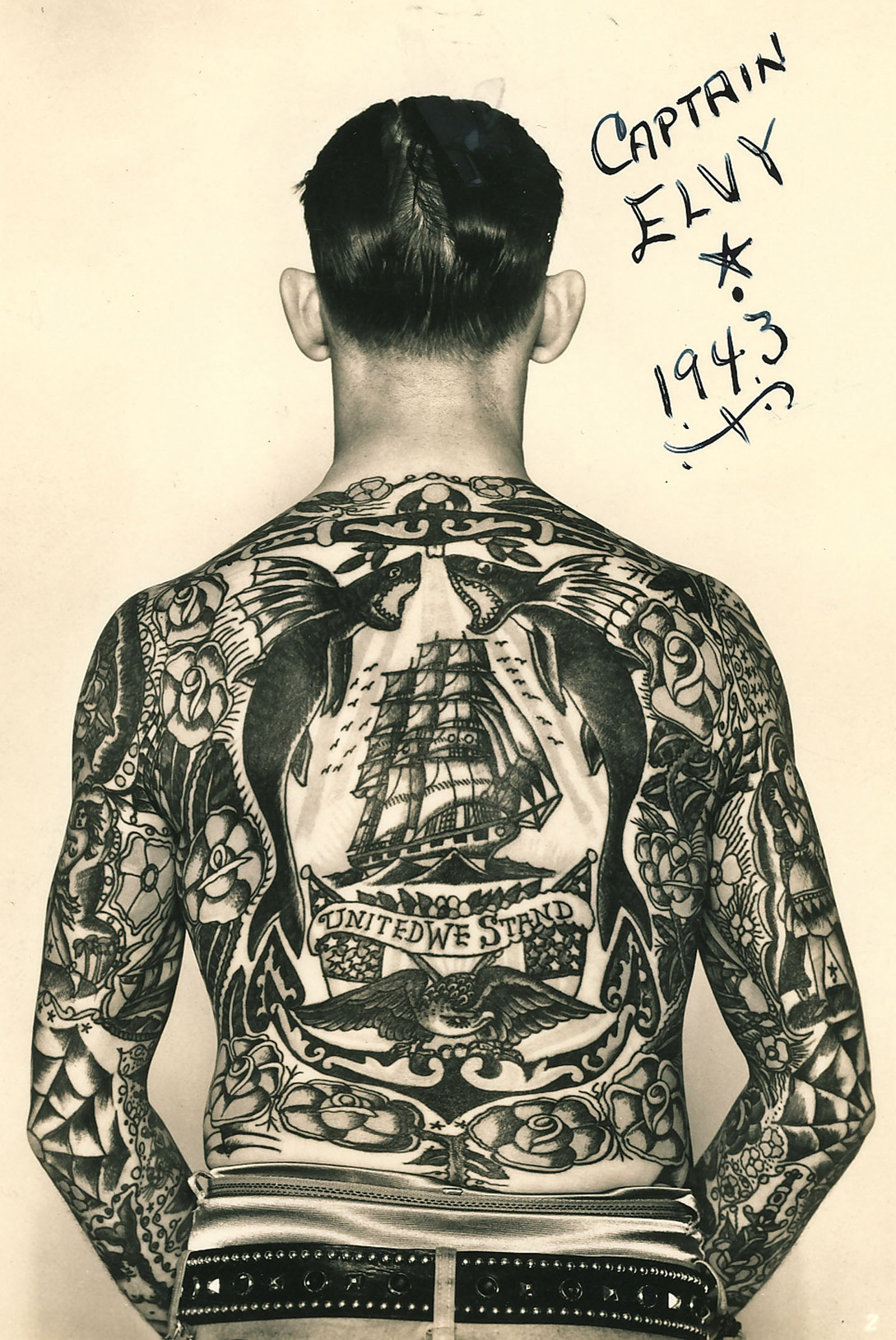 Hello sailor the nautical roots of popular tattoos for 19th century tattoos