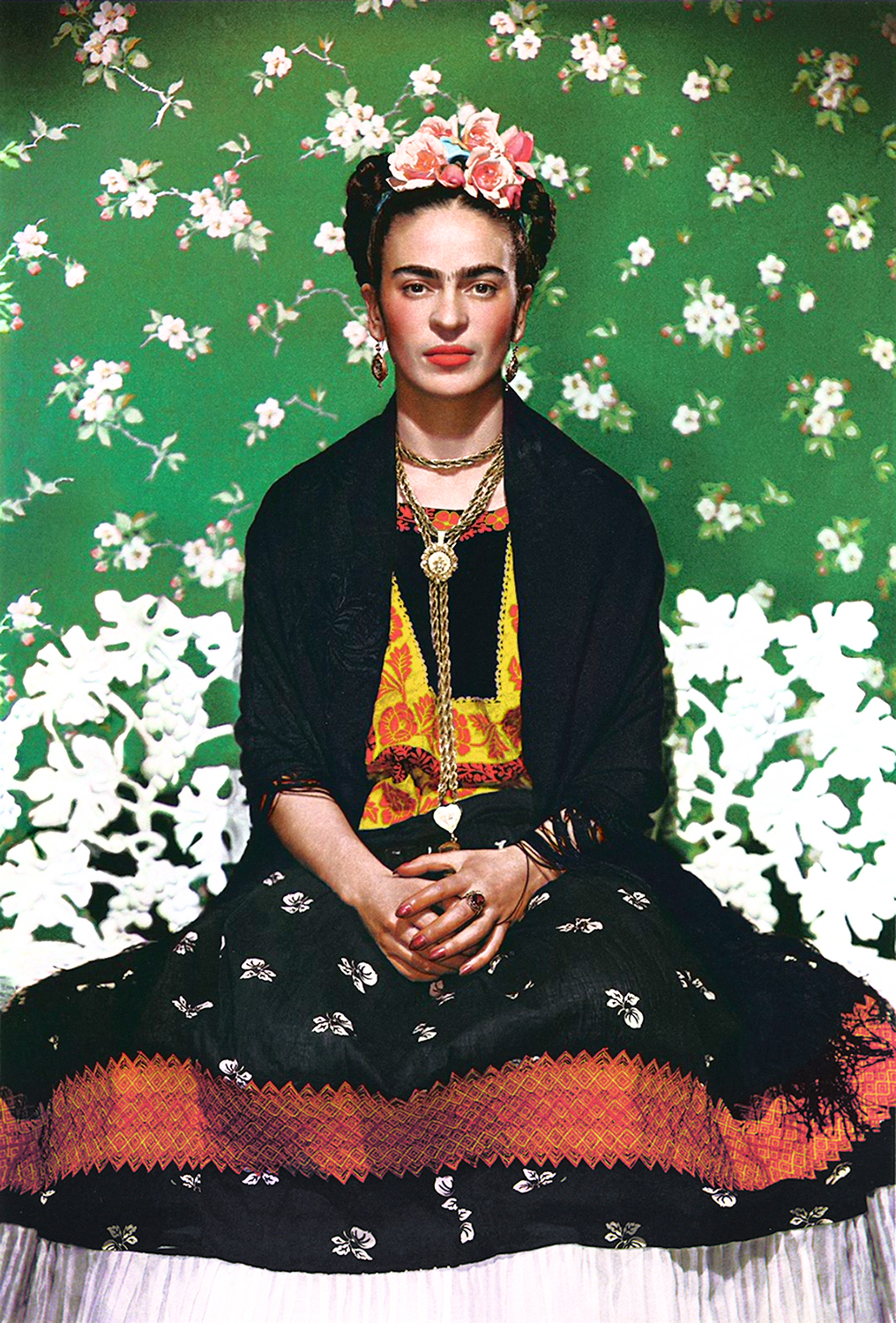 edd582d01ac Uncovering Clues in Frida Kahlo s Private Wardrobe