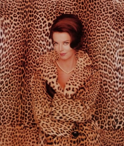 A Revlon ad from 1965. Women went wild for leopard after Jackie Kennedy wore a leopard-fur coat in 1961. (Photo by John Rawlings)