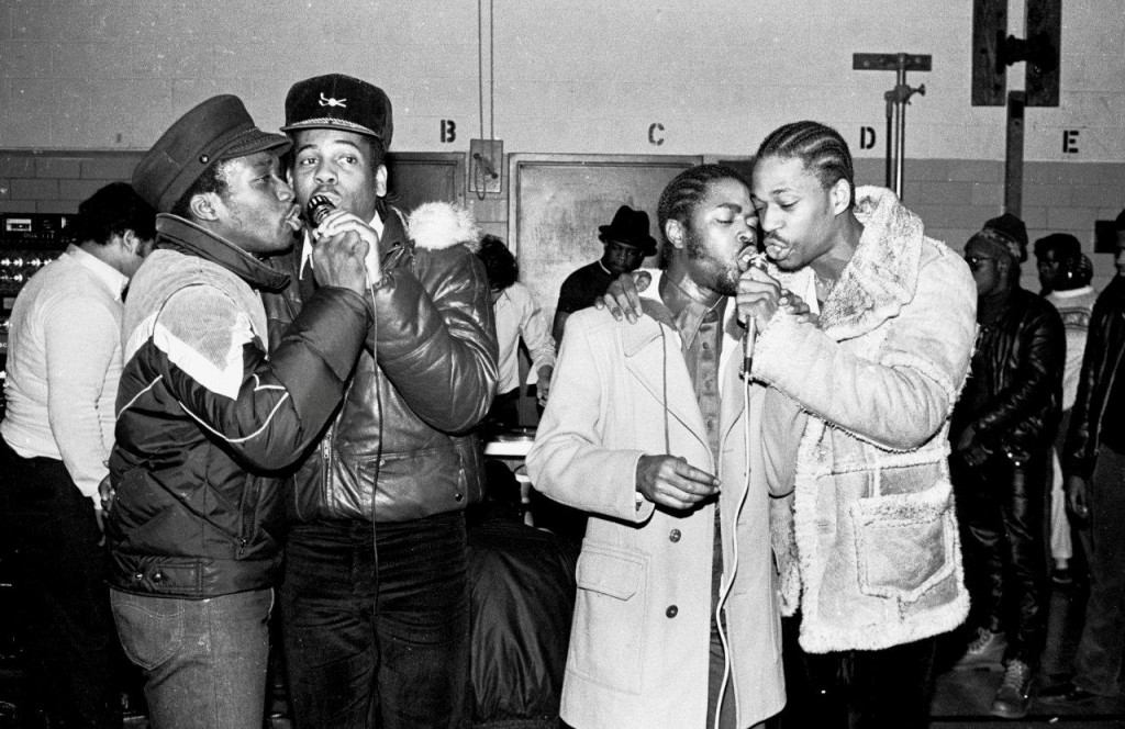 The influential Cold Crush Brothers crew formed in the Bronx in 1979. Via Instituto Urbano.