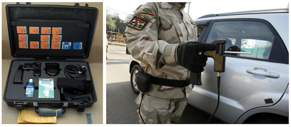 The Iraqi military purchased $85 million worth of dowsing-like bomb detectors for use at checkpoints before the devices were found to be fraudulent. It is not know how many lives were lost due to the military's reliance on these fake tools.