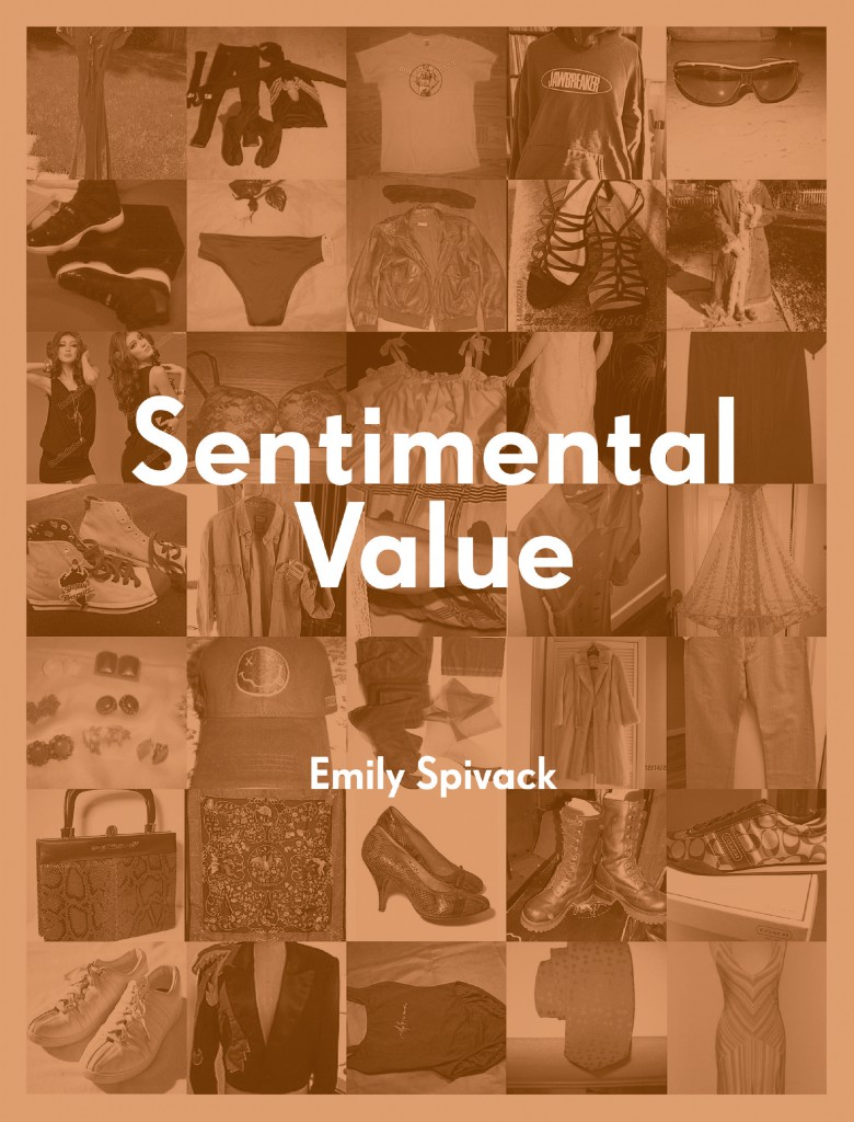 "The cover for the ""Sentimental Value"" catalog features images pulled directly from eBay auctions."