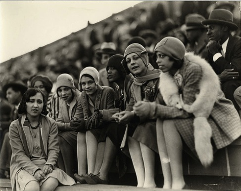 2d462b7c5ae01 African American flappers take in a college football game in Washington