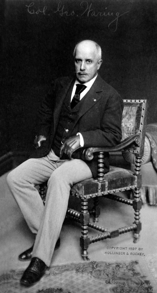 "The dapper Civil War veteran George Waring described himself as a ""sanitation engineer."""