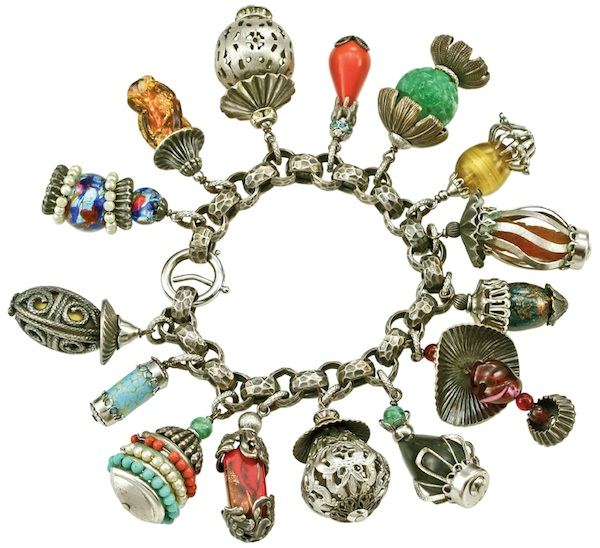 "The 1950s Napier ""Lanterns"" charm bracelet was a popular design. (From ""The Napier Co."")"