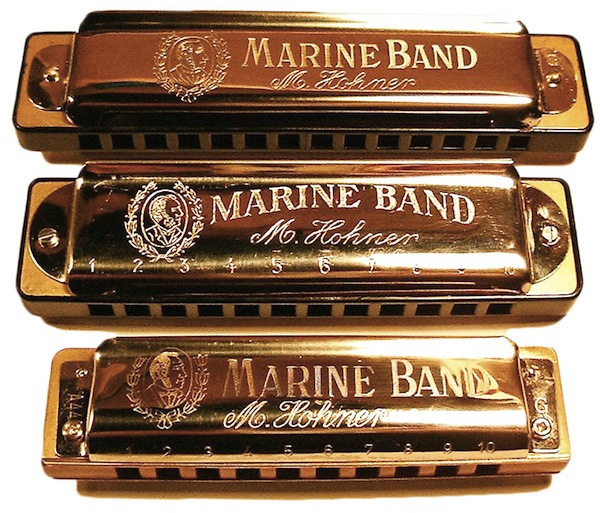 Joe filisko brass harmonicas