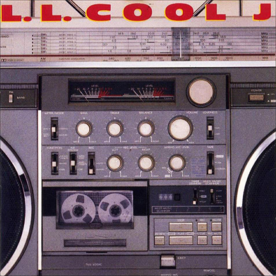 "The cover of LL Cool J's 1985 album ""Radio"" featured a JVC RC-M90."