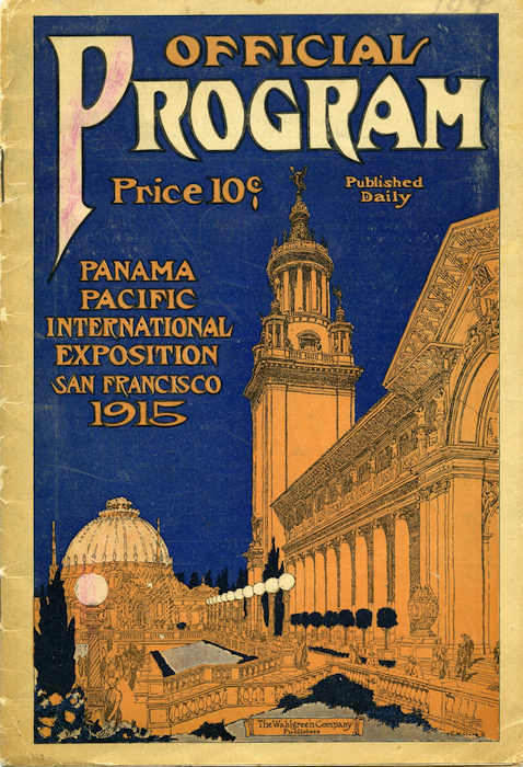 Lemare gave 121 concerts at the Panama Pacific International Exposition, bringing in $5,000 more than his $10,000 fee for the event's organizers. Photo: The Seligman Family Foundation.