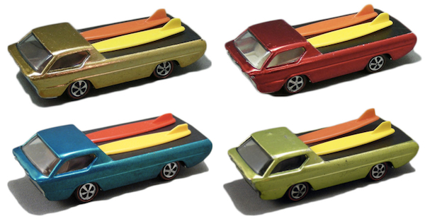 The Deora was one of the original 16 Hot Wheels cars when they were introduced in 1968. Schools has them in all colors.