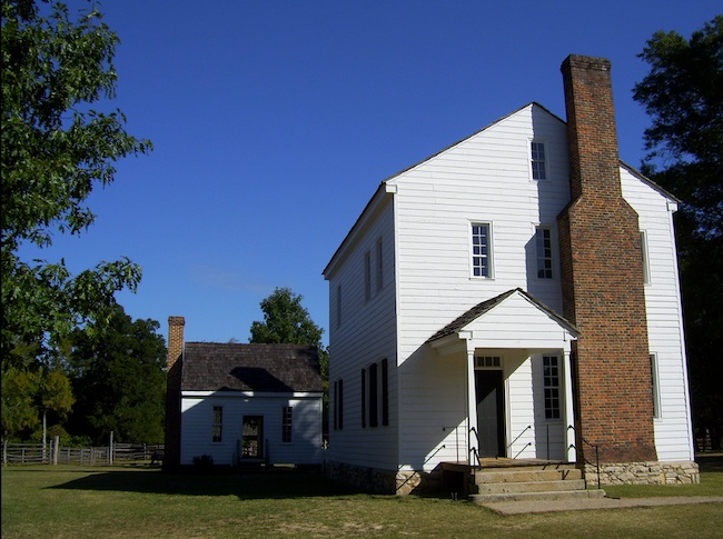 The Federal-style cotton plantation house at Latta was built in 1800 by Irish immigrant James Latta. In 1830, Latta and his wife owned 23 adults and 11 children. (Photo by Arnold Modlin)