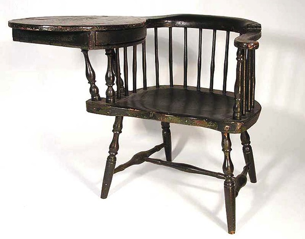When Industrialization took over, traditionalists longed for hand-made furniture like Windsor chairs.