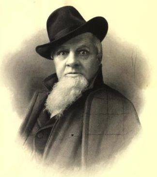 "Dan Rice in 1901. (From ""The Life of Dan Rice"" by Maria Ward Brown)"