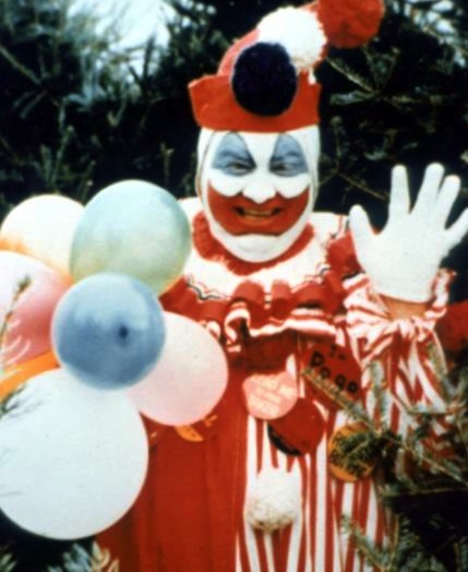 A 1970s snapshot of John Wayne Gacy as Pogo the Clown. (Via Murderpedia.org)