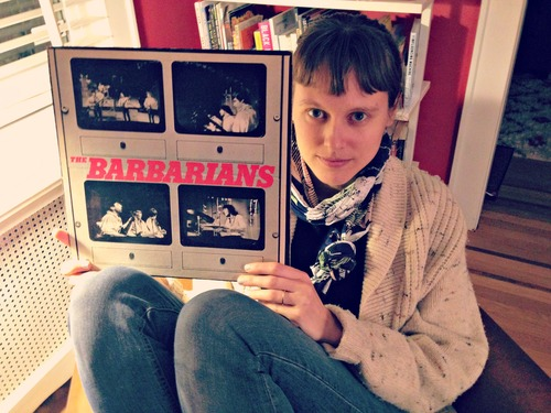 O'Holla with the reissue of the Barbarians' self-titled album.