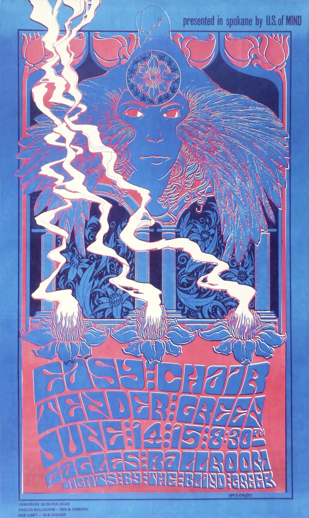 bfaa5ab64069 Rainy Day Psychedelia: Seattle's 1960s Poster Scene Gets Its Day in ...
