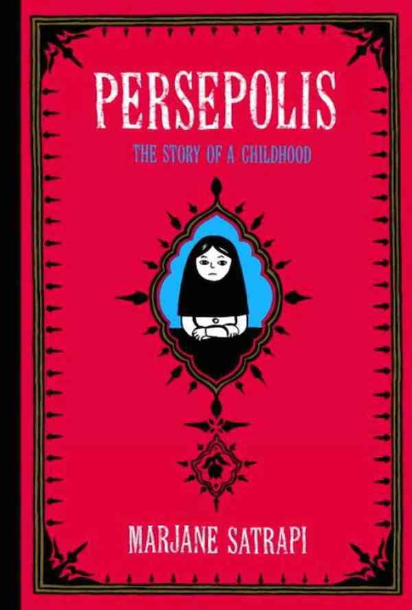 "Marjane Satrapi's graphic novel ""Persepolis,"" first published in 2003."