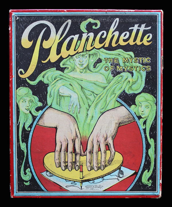 Selchow and Righter produced The Mystic of Mystics Planchette in the 1920s. (Courtesy of MysteriousPlanchette.com)