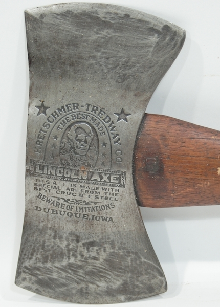 Mantique-edit_LINCOLN AXE. Kretschmer-Treadway Co.