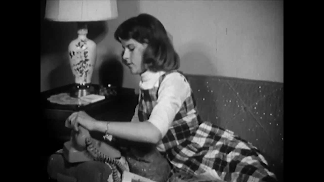 """Sid Davis' 1961 stranger-danger film, """"Girls Beware,"""" warns girls of all the trouble they could get into talking to men they don't know."""