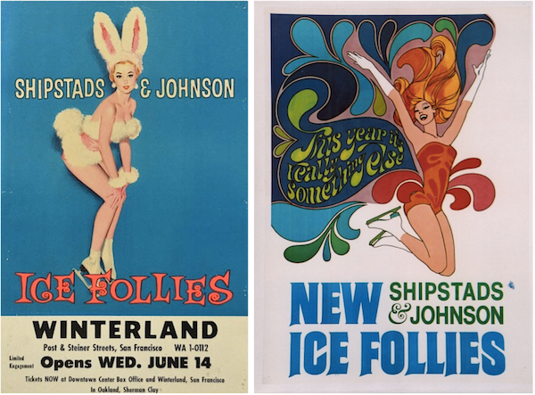 One of Holiday on Ice's fiercest competitors was the Ice Follies, produced by Shipstads & Johnson.