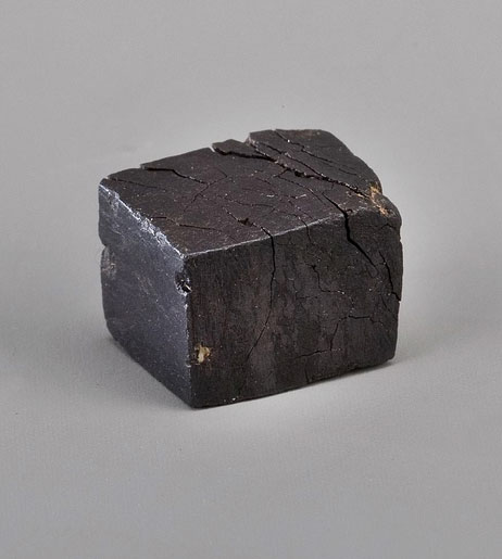 After the French Revolution led to the Bastille's destruction in 1789, chunks like this were sold as a souvenirs. (Photo by Richard W. Strauss, Smithsonian Institution.)