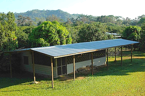 The lab that Brady and his students form Cal State L.A. used in Belize.