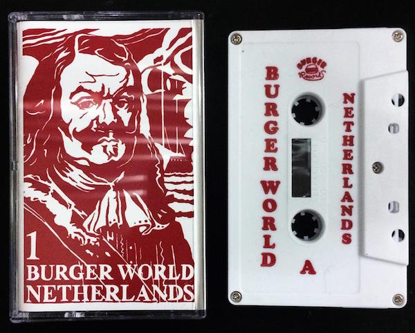 Burger Records and Dutch Culture USA teamed up to release a compilation tape of music from the Netherlands in 2015. (Via the Burger Records Facebook page)