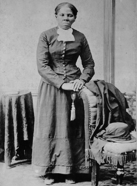 The abolitionist Harriet Tubman, pictured circa 1860-1875, escaped slavery and helped others do the same. She also worked as a Union spy. (Via Library of Congress)