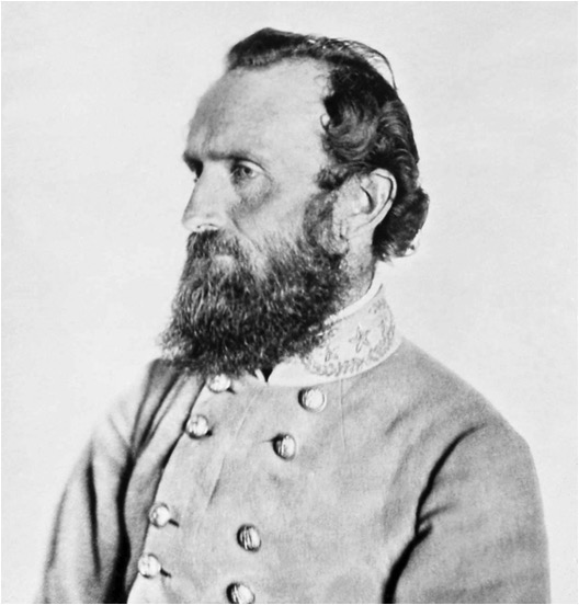 "General Thomas J. ""Stonewall"" Jackson. (From ""Liar, Temptress, Soldier, Spy"")"