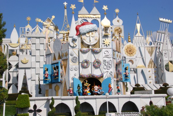 "On May 28, 1966, ""It's a Small World"" opens at Disneyland."