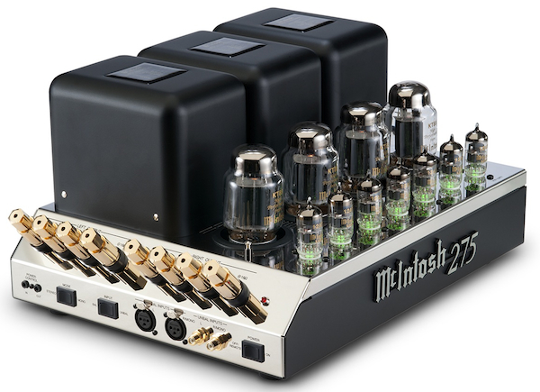 Today, the latest incarnation of the McIntosh 275 (the first one was produced in 1961) features tubes that glow green when they are working properly and red when they have failed.