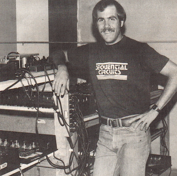 Dave Smith at Sequential Circuits in San Jose, circa 1978.