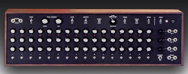 Dave Smith's first product for the company that became Sequential Circuits was a 16-step sequencer, which he built in 1974 as an add-on for his Minimoog.