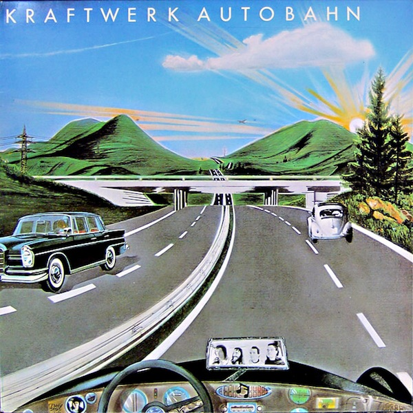 "The members of Kraftwerk used a Minimoog, ARP Odyssey, and EMS Synthi AKS on their 1974 breakthrough album, ""Autobahn."" Via Screw Music."
